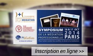 Inscription au Symposium de la médiation