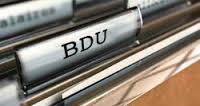 Votre formation : BDU