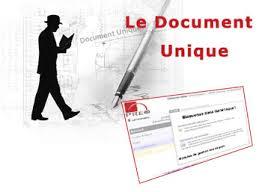 Le document unique, l'obligation de l'établir.