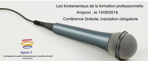 """Conférence Gratuite """"les fondamentaux de la formation professionnelle"""""""